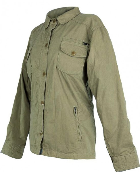 Bores Female Jacket Military Jack Damen Jacke Olive-XS