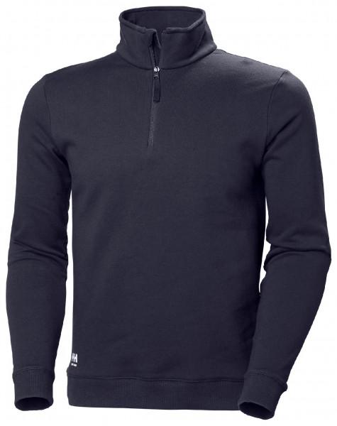 Helly Hansen Hoodie / Sweatshirt 79210 Manchester Hz Sweatershirt 590 Navy