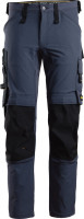 Snickers Workwear AllroundWork Full Stretch Arbeitshose Navy/Schwarz