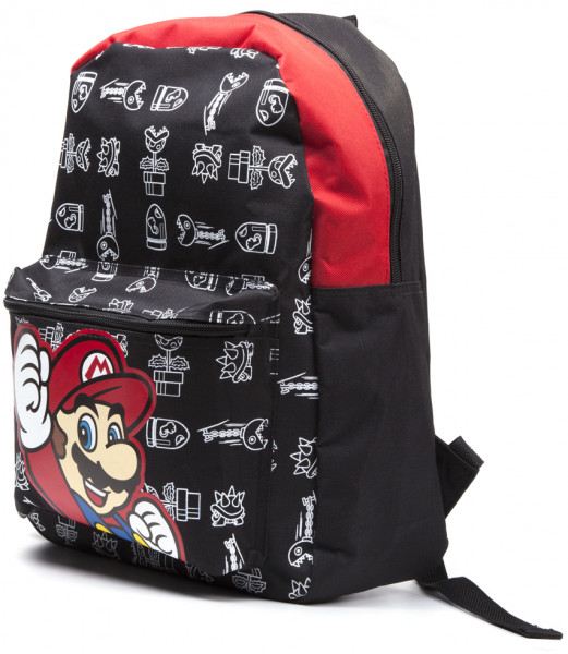 Nintendo Backpack Super Mario Black