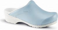 Sanita Clogs Damen Sandalen Pastel Light Blue
