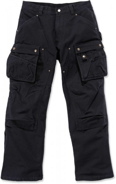 Carhartt Herren Hose Duck Multi Pocket Tech Pant Schwarz
