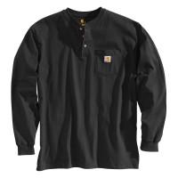 Carhartt Longsleeve Workwear Pocket Henley L/S Black