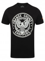 OCC Orange County Choppers T-Shirt Eagle Black
