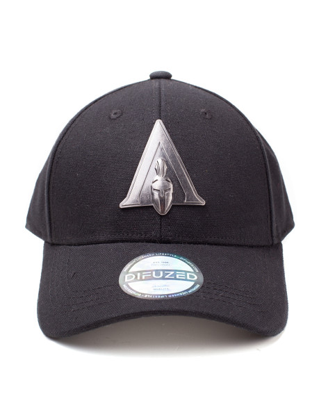 Assassin's Creed Cap Assassin's Creed Odyssey - Metal Badge Odyssey Logo Curved Bill Cap Black