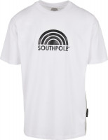 Southpole T-Shirt Logo Tee White