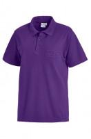 Leiber Polo-Shirt 08/241/84 Pflaume