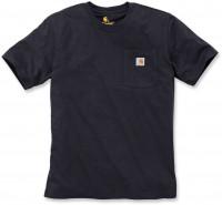 Carhartt Herren T-Shirt Workw Pocket T-Shirt S/S Black