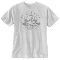 Carhartt Southern Water S/S Graphic T-Shirt Heather Grey
