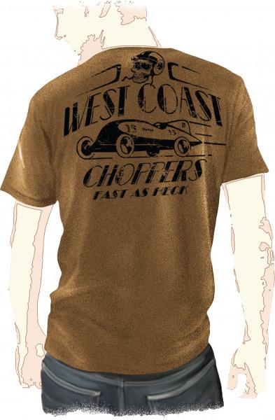 WCC West Coast Choppers T-Shirt Fast As Hack braun