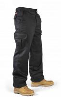 Lee Cooper Hose LCPNT205 Men's Workwear Cargo Trouser Black