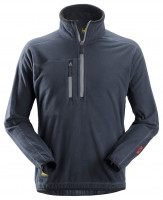 Snickers A. I. S. Fleece Troyer Navy