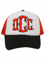 OCC Orange County Choppers Cap Trucker OCC Motorcycle Logo Red