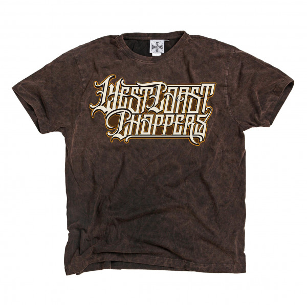WCC West Coast Choppers T-Shirt Onride Solid Brown