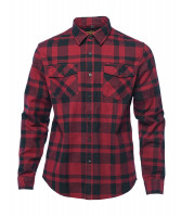 WCC West Coast Choppers Flannel Cisco Red/Black