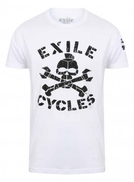 Exile T-Shirt Menace White