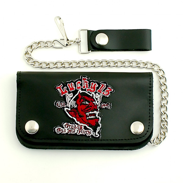 Lucky 13 Wallet Grease, Gas & Glory