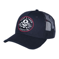 Lucky 13 Cap Trucker Cap Fast and Loud Black