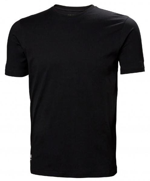 Helly Hansen T-Shirt 79161 Manchester T-Shirt 990 Black