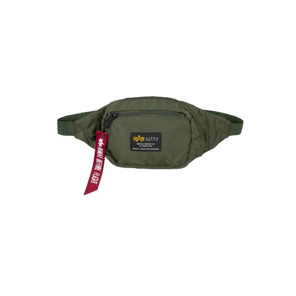 Alpha Industries Crew Waistbag Tasche Olive