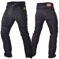 Trilobite Herren Motorrad Hose Jeans Parado Slim Fit Schwarz