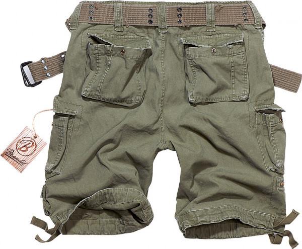 Brandit Shorts Savage Vintage in Olive