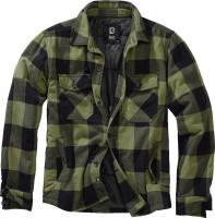 Brandit Men Jacke Lumberjacket Black+Oliv
