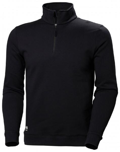 Helly Hansen Hoodie / Sweatshirt 79210 Manchester Hz Sweatershirt 990 Black