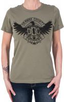 OCC Orange County Choppers Female Shirt Eagle Green