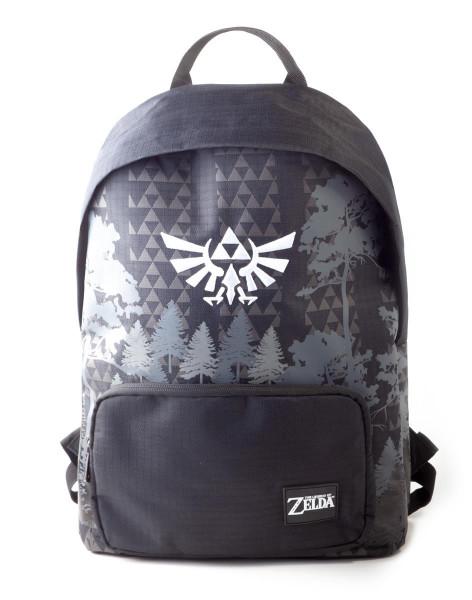 Zelda - Black & White Backpack Black