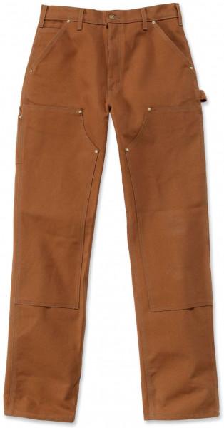 Carhartt Herren Hose Duck D. Front Logger Pant Carhartt® Brown