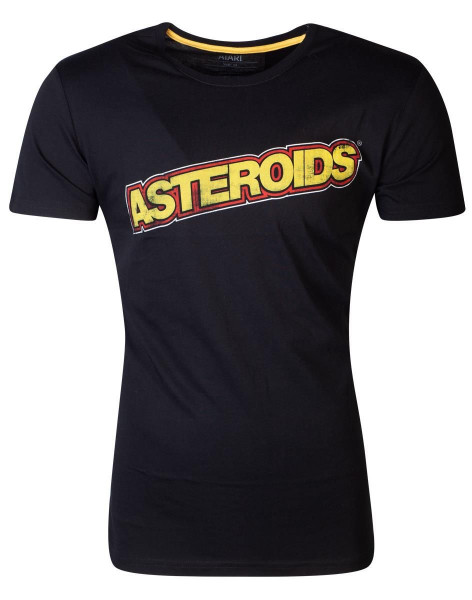Atari - Astroids Logo Men's T-shirt Black