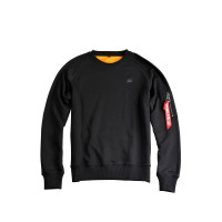 Alpha Industries X-Fit Sweat Hoodies / Sweatshirts Black