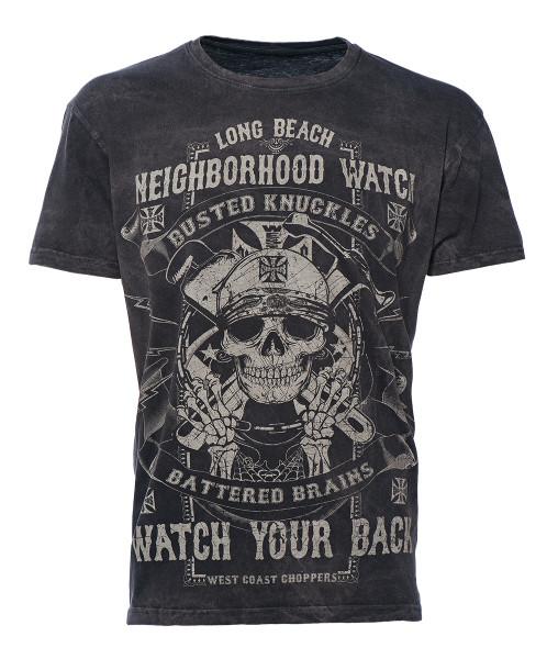 WCC West Coast Choppers T-Shirt Neighborhood Watch Black