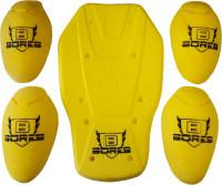 Bores Protektoren Set für Jacken (mit Rückenprotektor) CE geprüft