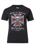 John Doe T-Shirt Cross Black