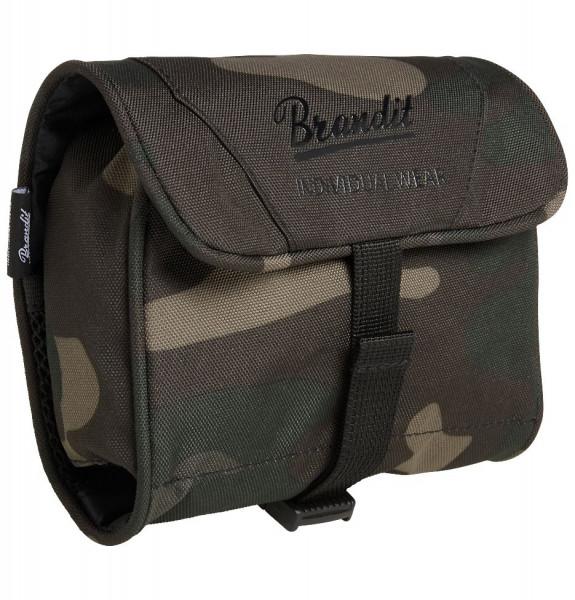 Brandit Tasche Toiletry Bag, medium in Darkcamo