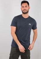 Alpha Industries T-Shirt Basic Small Logo Navy Blue