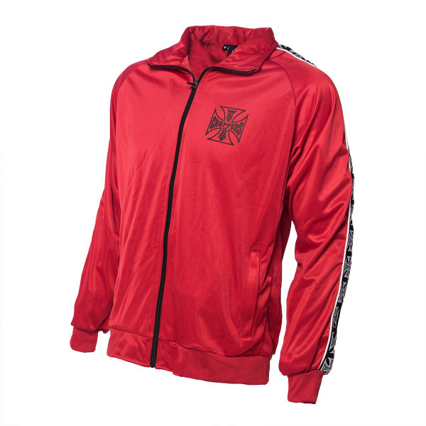 WCC West Coast Choppers Tracksuit Trainingsjacke OG Red