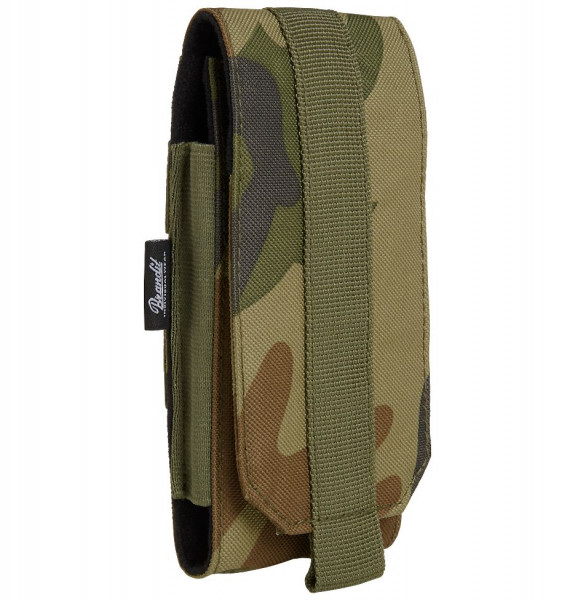 Brandit Tasche Molle Phone Pouch, large in Woodland