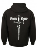 OCC Orange County Choppers Hoodie Classic Sword Zip Black