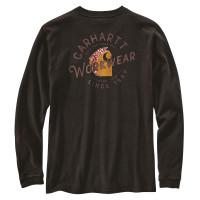 Carhartt Damen Workwear Graphic Pocket T-Shirt Black