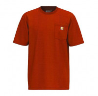 Carhartt T-Shirt K87 Pocket Currant Heather