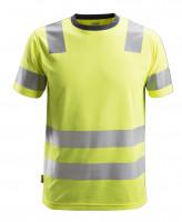Snickers AllroundWork Hi-Vis T-Shirt, Kl. 2, EN 20471 High-Vis Gelb