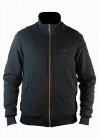John Doe Motorrad Sweater / Pullover Stand Up Neck 0/1-XTM Black