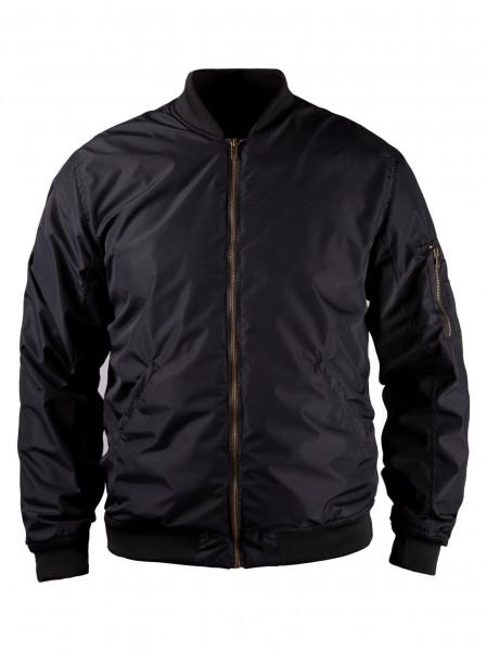 John Doe Motorrad Jacke Flight Jacket Black