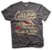 Gas Monkey Garage T-Shirt Go Big Or Go Home Darkgrey