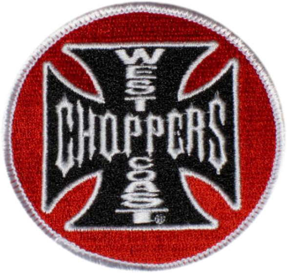 WCC West Coast Choppers Patch Tank Logo