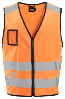 Snickers Hi-Vis Arbeitsweste, Kl. 2, EN 20471 High-Vis Orange