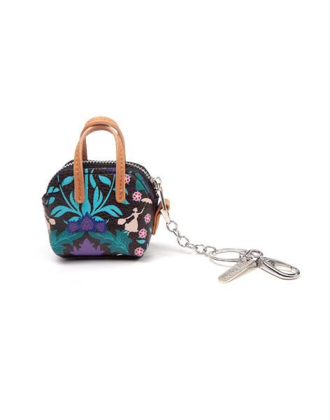Disney Mary Poppins 'Mini Bag' Coin Purse Keychain Multicolor